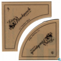 "3 1/2"" Small Paths Acrylic Template"