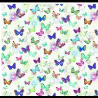 Opal Butterfly bakstykkestoff