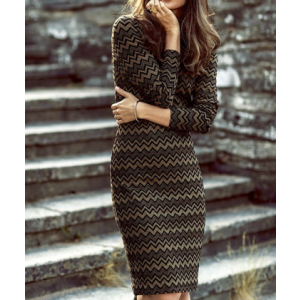 The Story Fitted Dress
