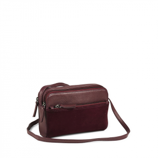 Flora Crossbody Bag Suede