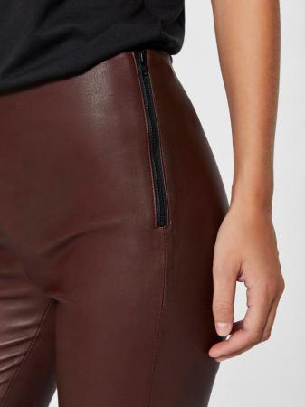 Sylvia Stretch Leather Legging