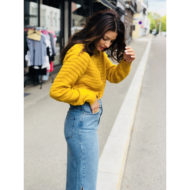 Beatrice Pullover Golden Yellow