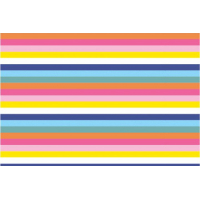 Jersey med  flerfarga striper