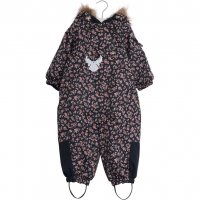 Snowsuit Nickie Med Blomster