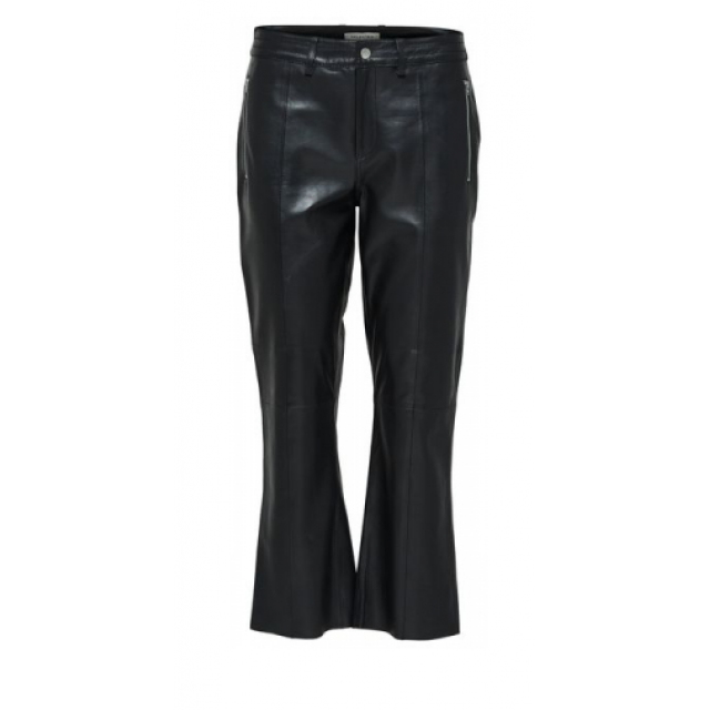 Mia Cropped Leather pants