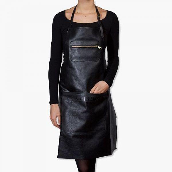 Amazing apron, Zipper Style: Black
