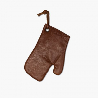 Oven gloves classic brown
