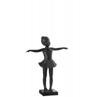 Ballerina Sculpture, Black