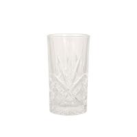 Høyt tumbler crystal glass