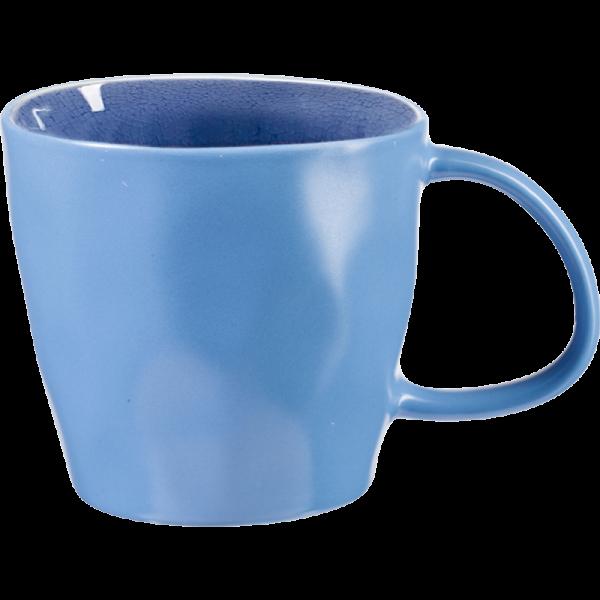 A la plage kaffekopp blå
