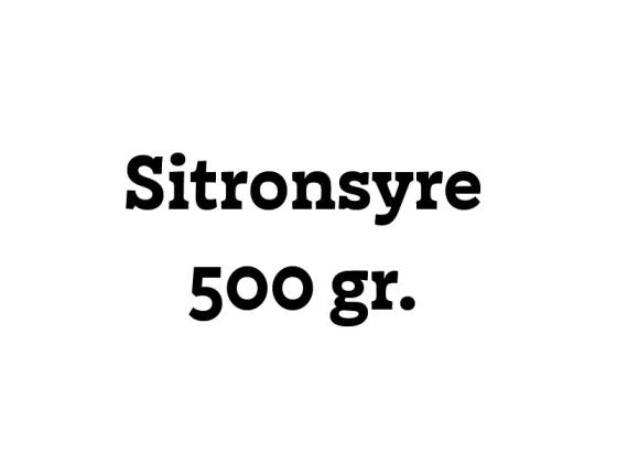 Sitronsyre 500g