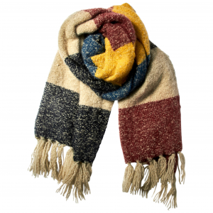 Cosy Scarf Bright Multi