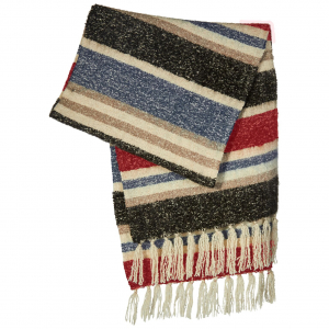 Cosy Scarf Blue/Red