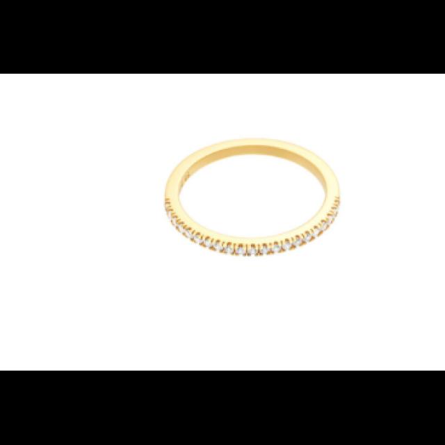 Simplicity ring- green