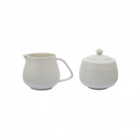 Cecar milk & sugar pot