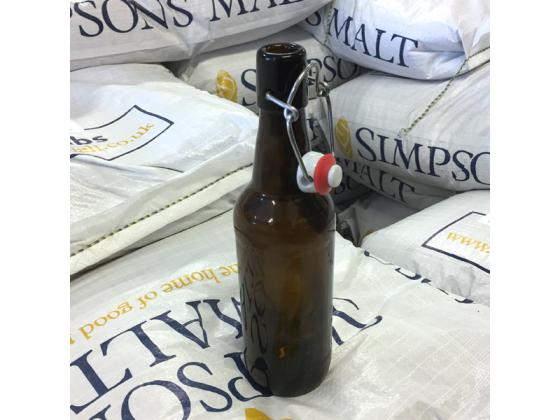 Ølflaske med patentkork - 0,5 liter