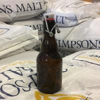 Ølflaske med patentkork - 0,33 liter