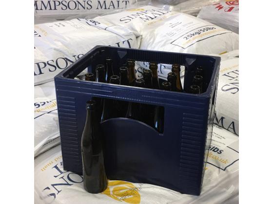 Kasse Med 20x 0.50 NRW 0,5 L Flasker