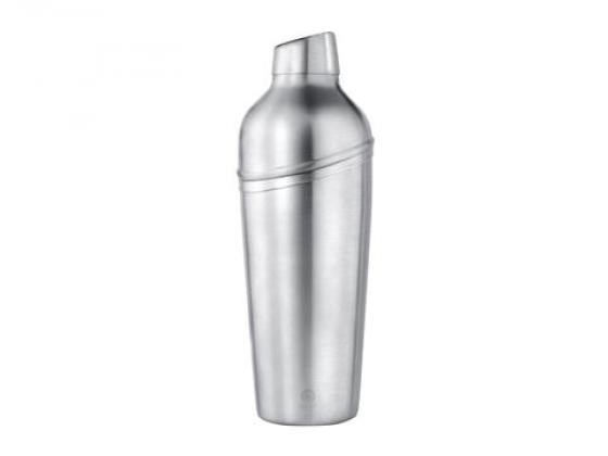 Shaker matt stål med sil 0,7l