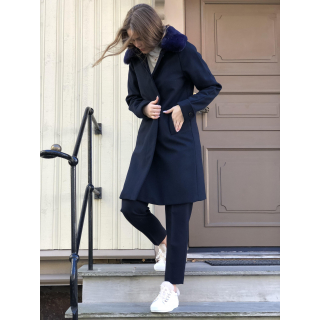 Aya wool coat