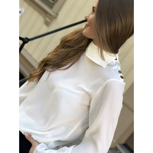 Alina solid blouse