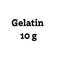 Gelatin 10g