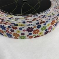 Bokserstrikk hvit bunn med blomster