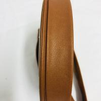 Skråbånd i imitert skinn lys  brun