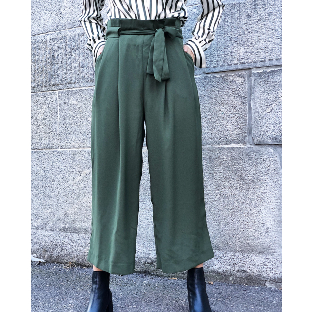 Yasemin trousers - Rifle green