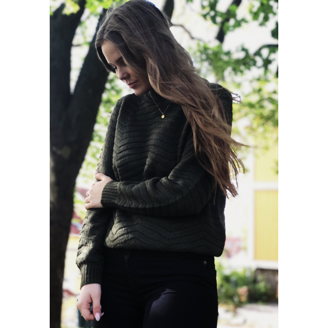 Beatrice Pullover Forest Night
