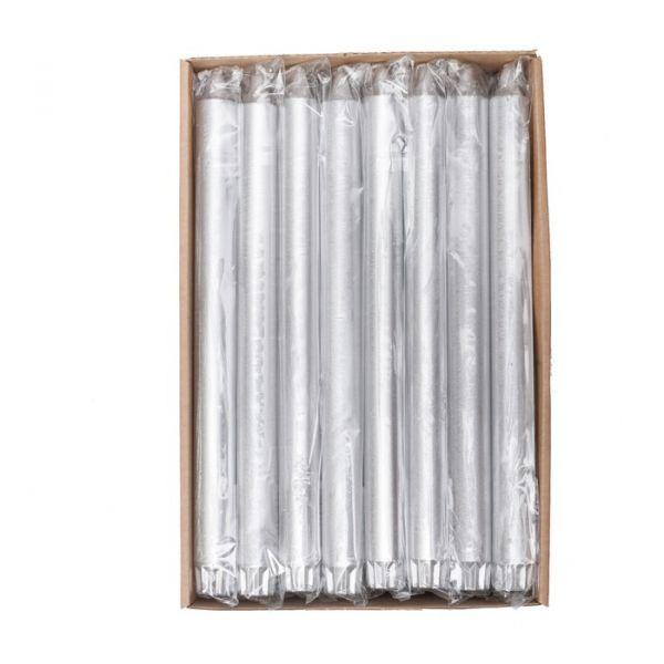 Silver kronelys 2,2x28