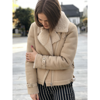 Mondel sherling jacket