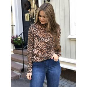 Celia blouse - leopard