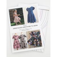 Jerseykjole med sving til barn 74-146