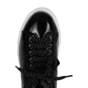 Sneakers sort lakk
