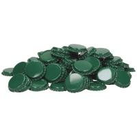 29mm Flaskekapsler Grønn 100stk