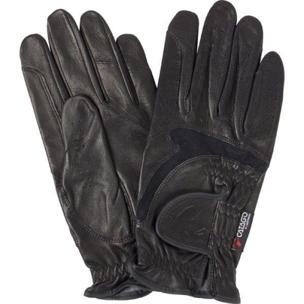 Catago Elite hansker feel leather - Svart og brun