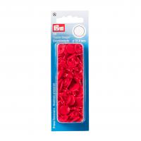 Plast trykknapp rød