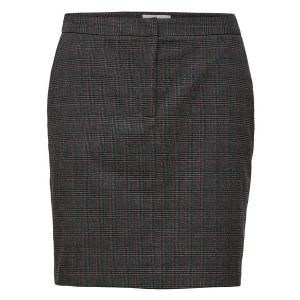 Musu Check Skirt