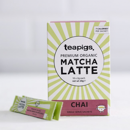Matcha latte chai teapigs