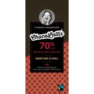 Ingefær & Chili ChocoLattis