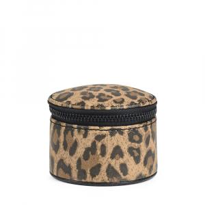 Smykkeboks leopard liten