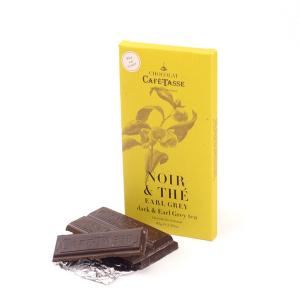 Mørk sjokolade med Earl Grey