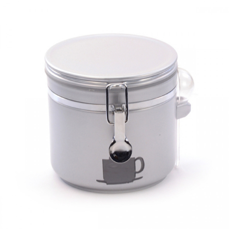 Kaffeboks Antonio Sølv