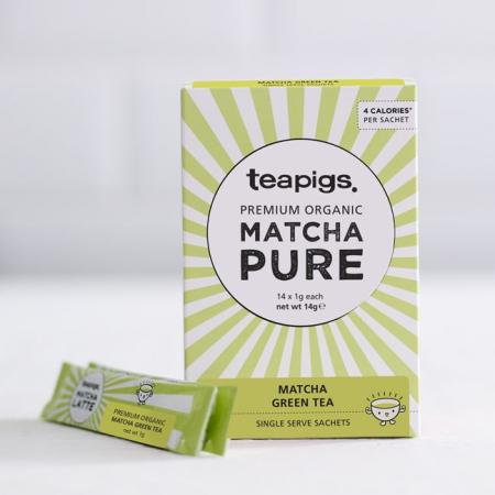 Organic matcha on the go teapigs