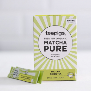 Organic matcha on the go teapigs