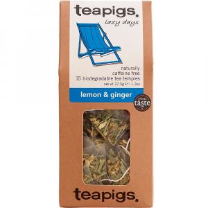 lemon & ginger organic~ teapigs