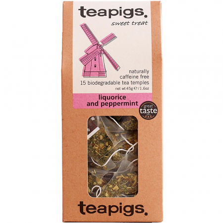 liquorice and peppermint ~ teapigs
