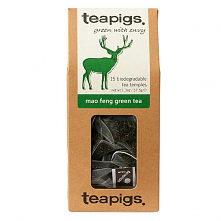 mao feng green tea ~ teapigs