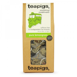 pure lemongrass ~ teapigs